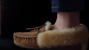 Slippers Are the Star of this L.L.Bean Holiday Spot from The VIA Agency