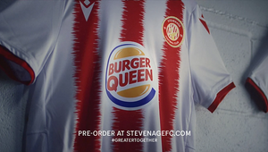 Burger King Becomes Burger Queen for Stevenage FC Women Sponsorship