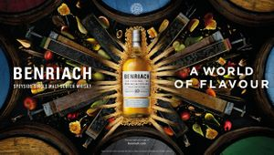Benriach - A World of Flavour - OOH