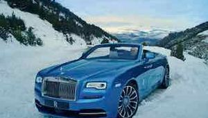 Rolls Royce Dawn. Horizon.