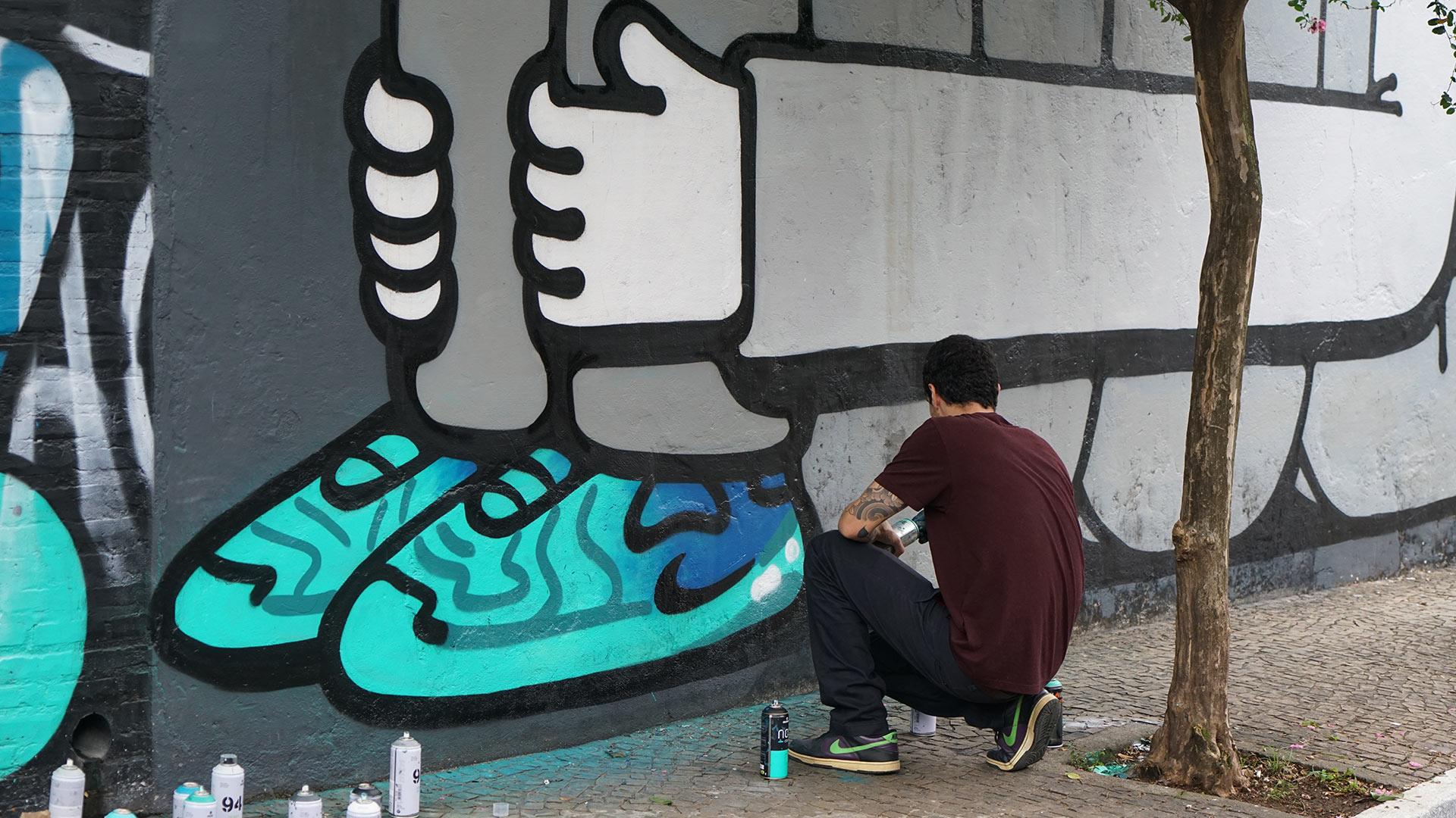 Nike: Air Max Graffiti Store