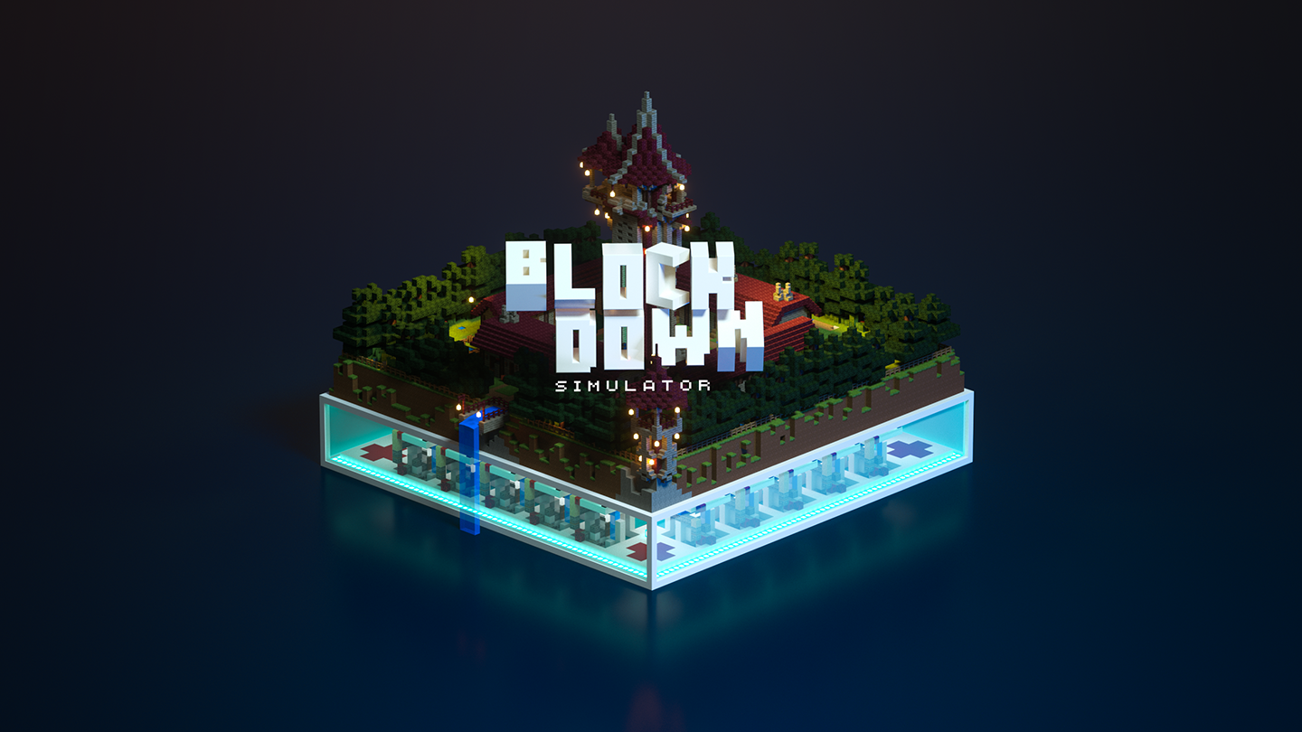 Minecraft: Blockdown Simulator