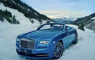 Rolls Royce Dawn. Horizon.