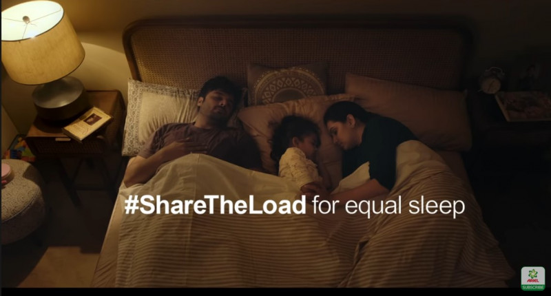 #ShareTheLoad for Equal Sleep
