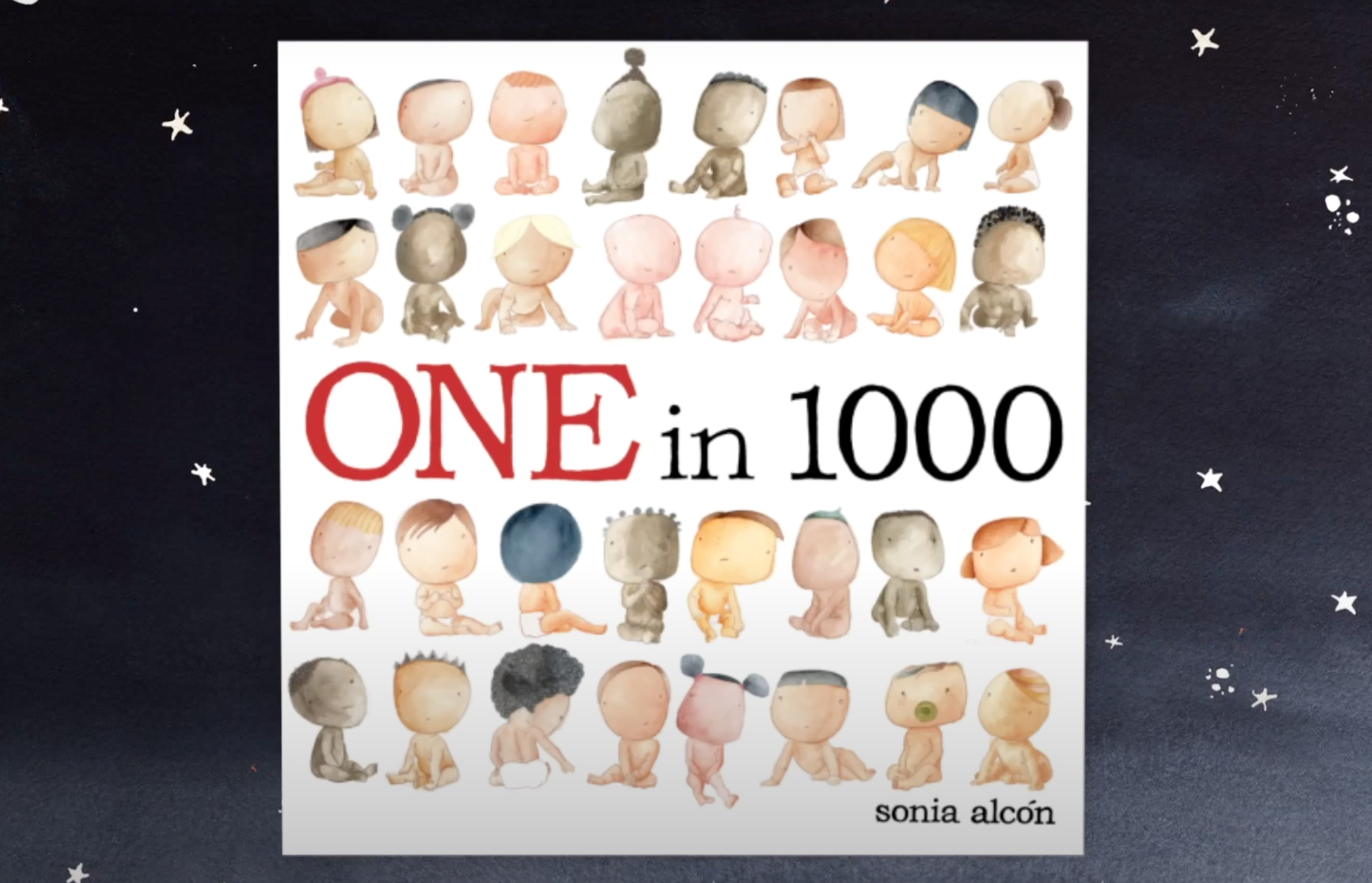 One in 1000 - A Children's Audio-Picture Book